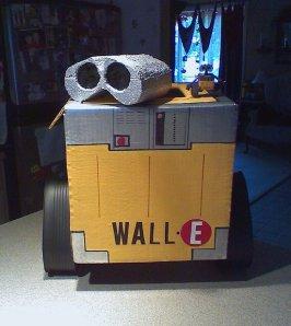 Cardboard-Wall-E