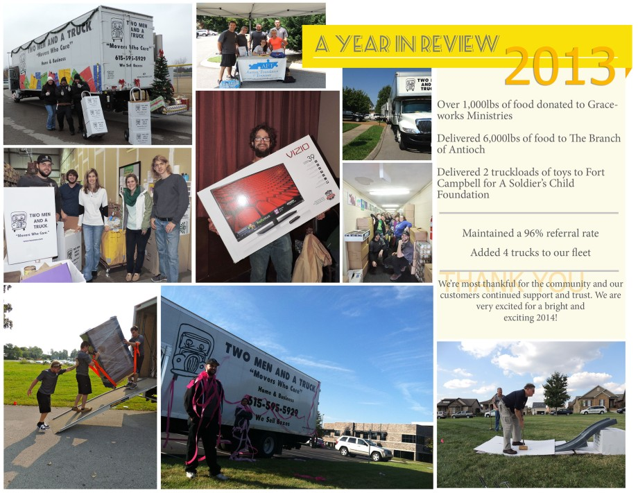 Our Year in Review 2013